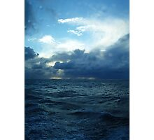 Incoming Storm on the Indian Ocean Photographic Print