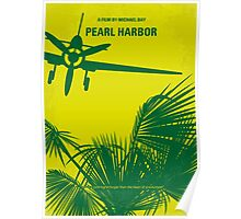 No335 My PEARL HARBOR minimal movie poster Poster