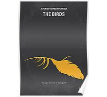 No110 My Birds minimal movie poster Poster