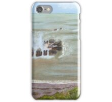 Port Wrinkle, April 2016 by John Rees iPhone Case/Skin