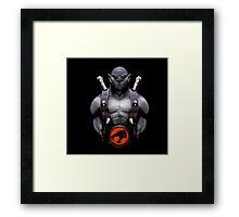 panthro thundercats Framed Print