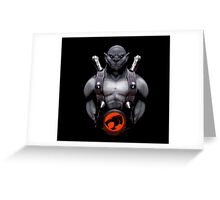 panthro thundercats Greeting Card