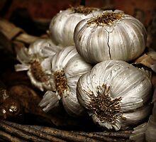 Garlic anyone? by Karen Tregoning