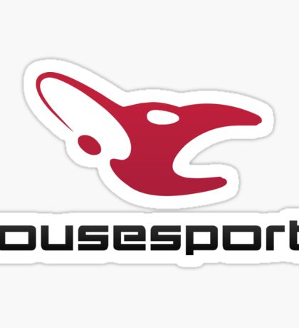 Mousesports - T-shirts and more Sticker