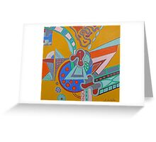 Future City Greeting Card