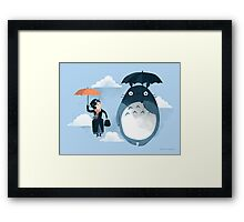 The Perfect Neighbor Framed Print