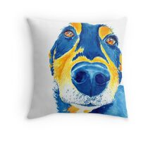 Sausage Lover Dog Throw Pillow