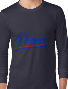 Polaris Vintage Snowmobiles USA Long Sleeve T-Shirt