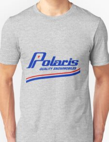 Polaris Vintage Snowmobiles USA Unisex T-Shirt