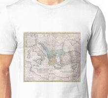 Vintage Map of Greece (1741) Unisex T-Shirt