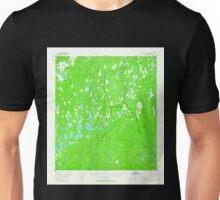 USGS TOPO Map Alaska AK Mount McKinley C-5 357798 1954 63360 Unisex T-Shirt