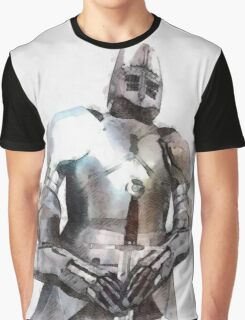 Knight in Armour Graphic T-Shirt