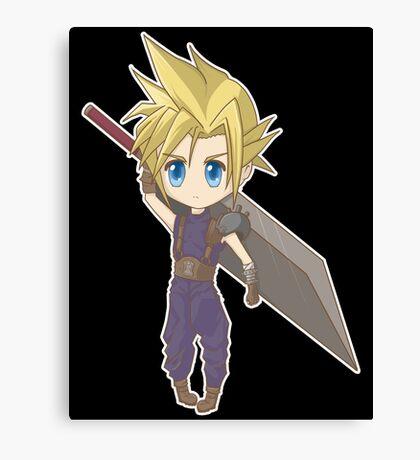 Cloud - Final Fantasy VII Canvas Print