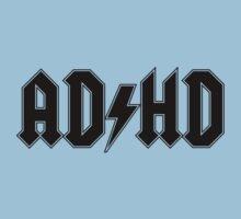 ADHD (Black Print) Kids Clothes