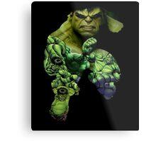Hulk Mash-up  Metal Print