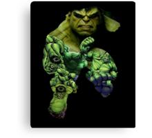 Hulk Mash-up  Canvas Print