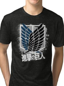 Attack On Titan - Survey Corps Edit Tri-blend T-Shirt