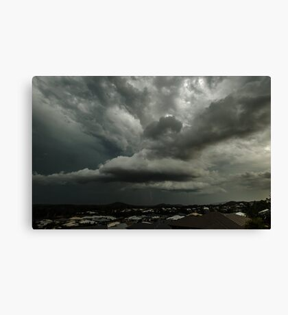 Stormy Skies over the Gold Coast Canvas Print