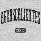 Aguascalientes Mexico (Black Print) by smashtransit