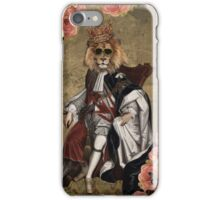Animal Collection by Elo -- The King iPhone Case/Skin