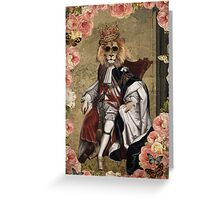 Animal Collection by Elo -- The King Greeting Card
