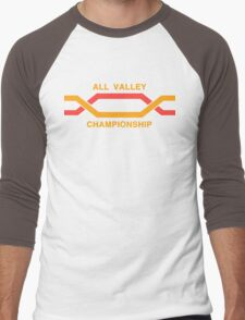 ALL VALLEY KARATE CHAMPIONSHIP 1984 Men's Baseball ¾ T-Shirt