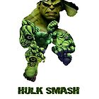 "Hulk ""Hulk Smash"" by PMckennaDesigns"
