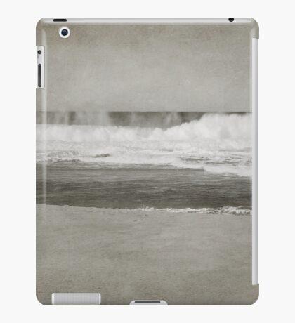 Bar Beach on a Windy Day iPad Case/Skin