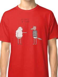 Wolf In Sheep's Clothing Classic T-Shirt
