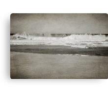 Bar Beach on a Windy Day Canvas Print