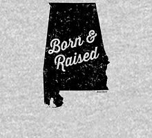 Alabama Born & Raised (Black Print) Unisex T-Shirt