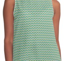 Abstract zigzag linear pattern Contrast Tank