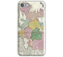 Vintage Map of Europe (1743) iPhone Case/Skin