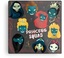 Princess Squad Metal Print