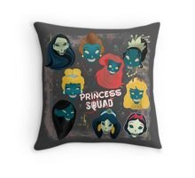 Princess Squad Throw Pillow
