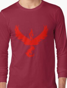 pokemon go valor logo Long Sleeve T-Shirt
