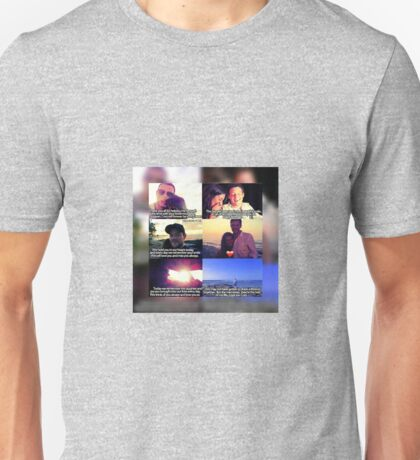 Cory and Lea Collage Unisex T-Shirt