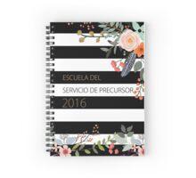Escuela del Servicio de Precursor (Design No. 1) Spiral Notebook