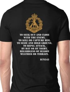 Role of the Infantry  Unisex T-Shirt