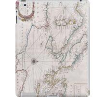 Vintage Map of The Mediterranean Sea (1745) iPad Case/Skin