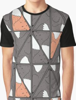 Triangle foxes. Why not. Graphic T-Shirt