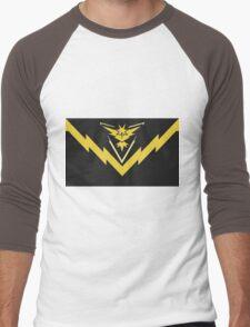 team instinct logo pokemon Men's Baseball ¾ T-Shirt
