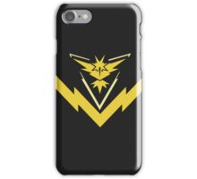 team instinct logo pokemon iPhone Case/Skin