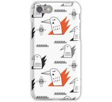 Birds in flames iPhone Case/Skin
