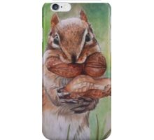 Cheeky Chipmunk iPhone Case/Skin