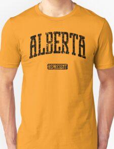 Alberta Represent (Black Print) Unisex T-Shirt