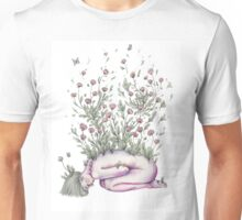 """From my rotting body, flowers shall grow and I am in them and that is eternity."" Unisex T-Shirt"