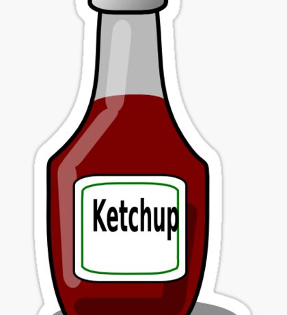 Ketchup or Catsup Which Is It??? Sticker