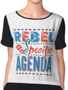 Rebel Chiffon Top