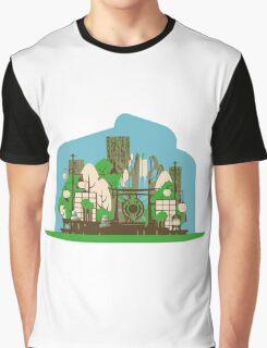 Asian zen in Summer Graphic T-Shirt